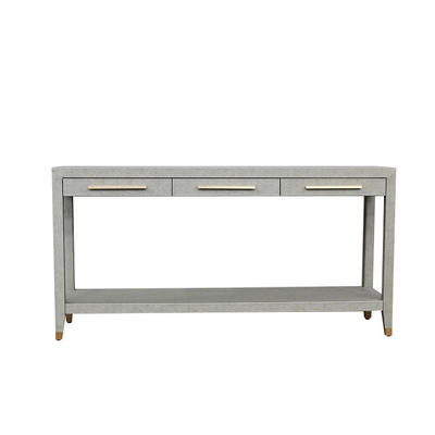 New luxurious upholstery with artificial leather console table furniture