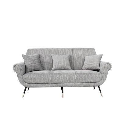 Luxury Hotel Furniture Modern design stainless steel base sofa for living room