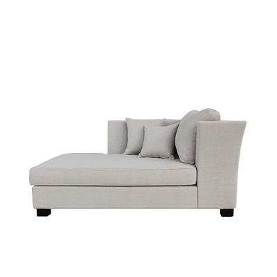 Modern commercial 4 star hotel bedroom furniture fabric sofa