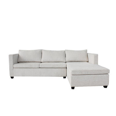 Hotel Bedroom Furniture Set L Shaped Beds Sofa Set high quality Fashion Fabric