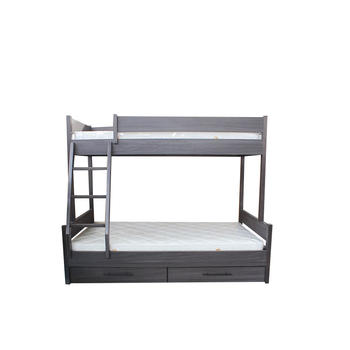 Solid Wood Bunk Beds for Children Toddler Modern Bedroom Sets